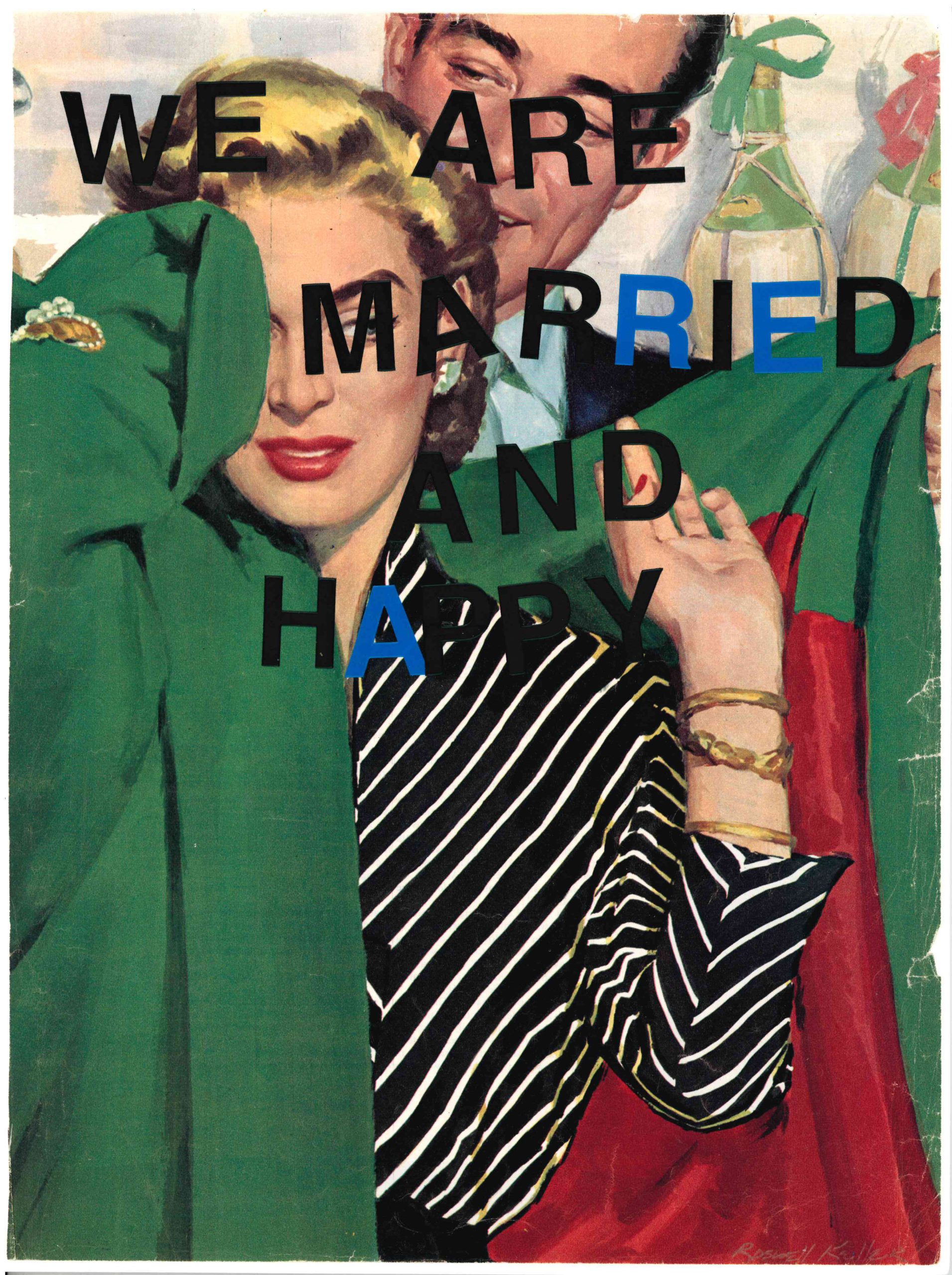 We are Married and Happy by Lyubov Rozenfeld