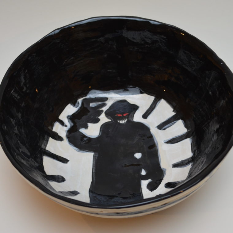 Ceramic bowl by Neri Avraham