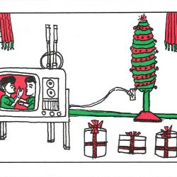 holiday tv set