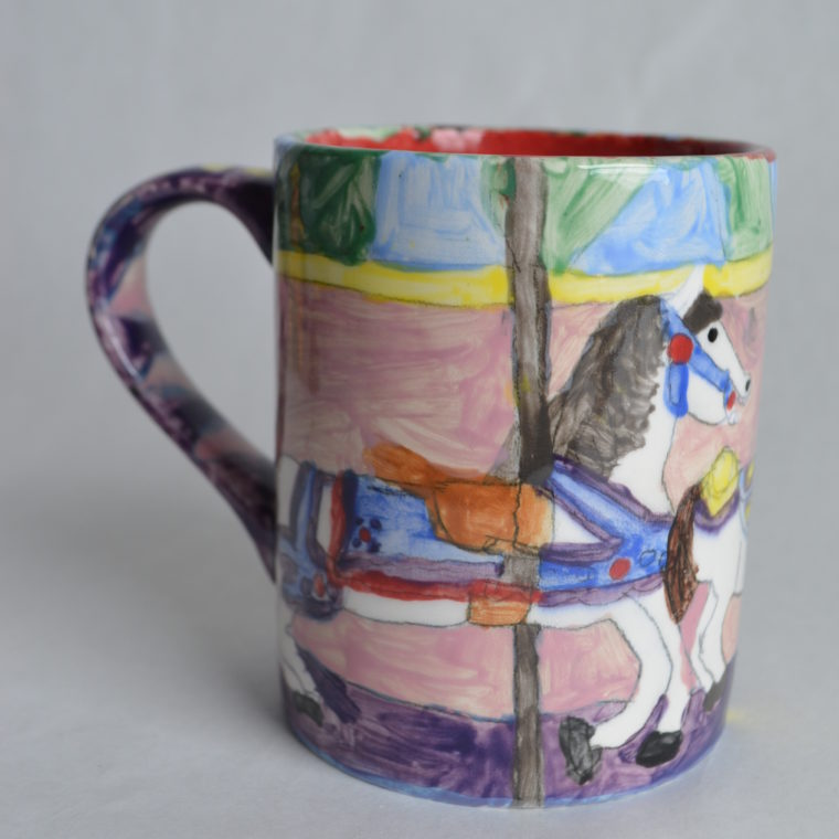 Mimi Clark. Coffee mug. Ceramic. 2019.