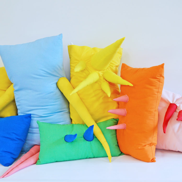 Pillows by Becky Geller