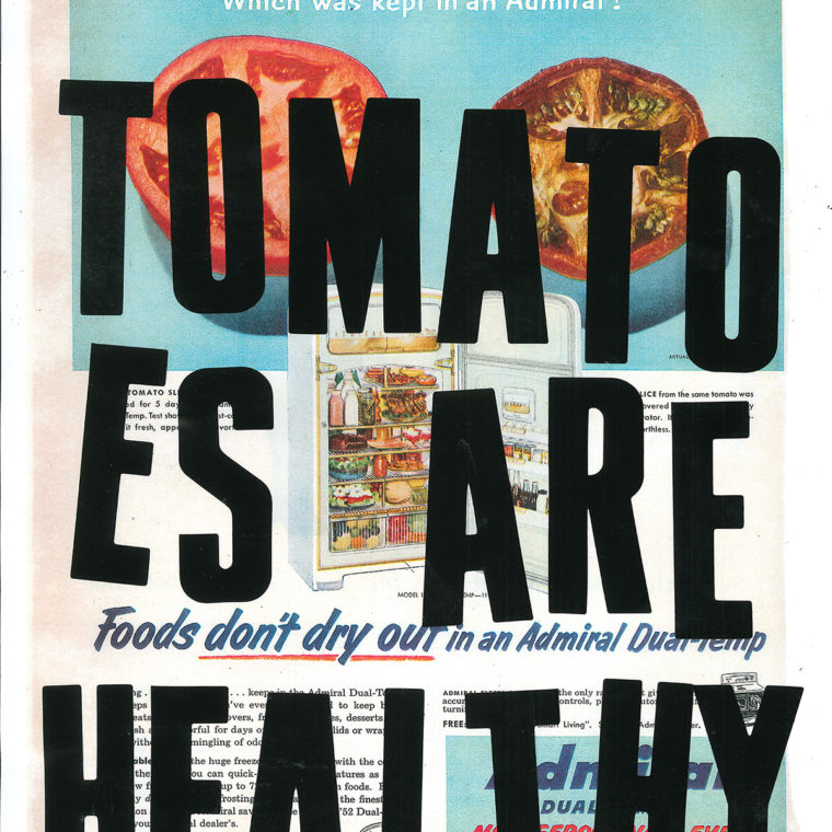 Tomatoes Are Healthy by Lyubov Rozenfeld
