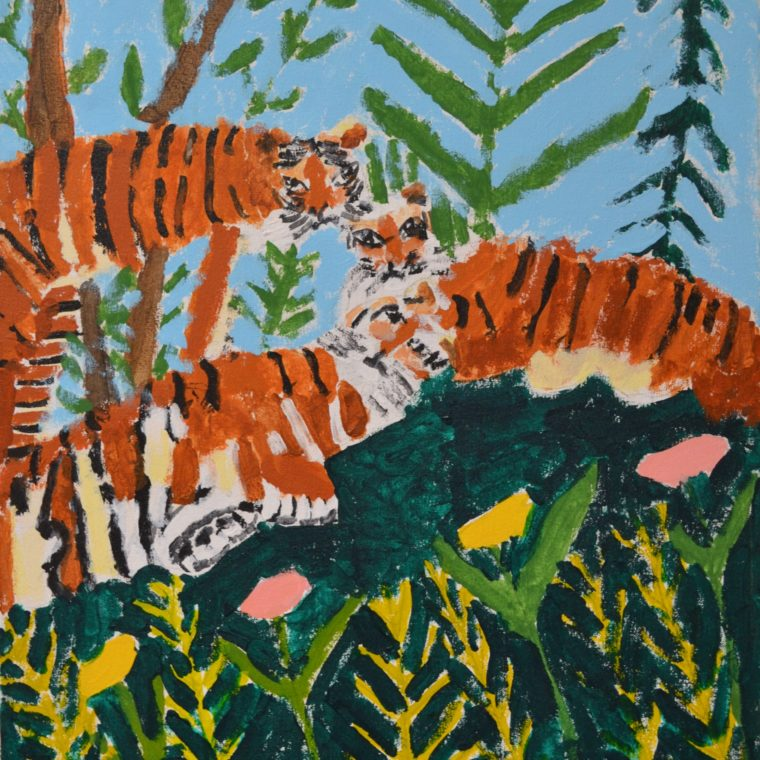 Untitled (tigers) by Barbara Brown