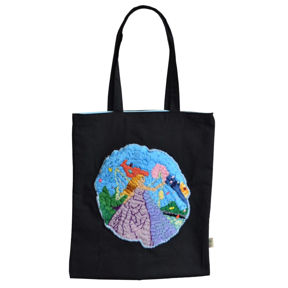 Fairy tote bag by Alison Doucette