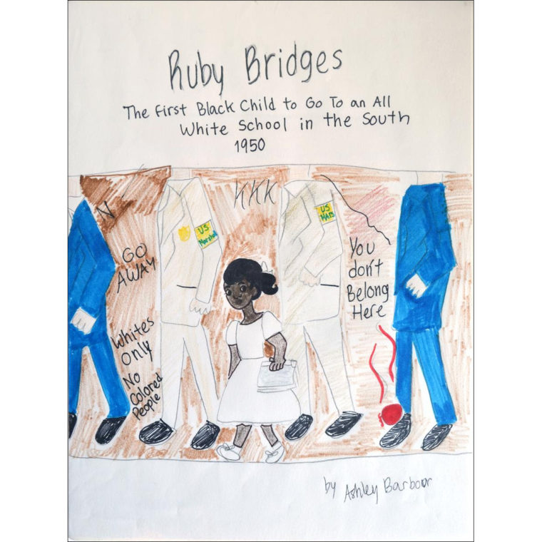 Ruby Bridges by Ashley Barbour.
