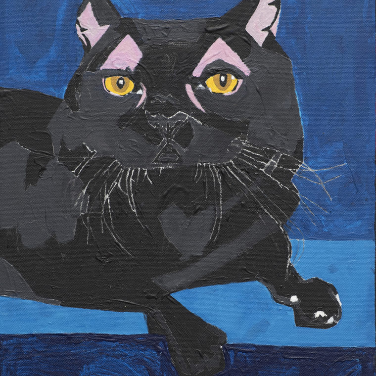 Untitled (cat) by Neri Avraham