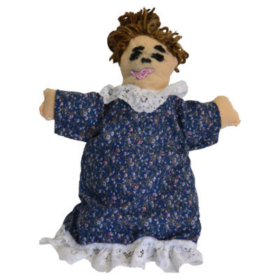 Barbara Brown. Reversible Doll
