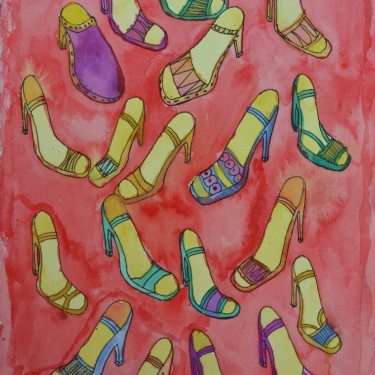 Untitled (shoes) by Bohill Wong