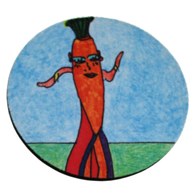 Carrot coaster by Bohill Wong