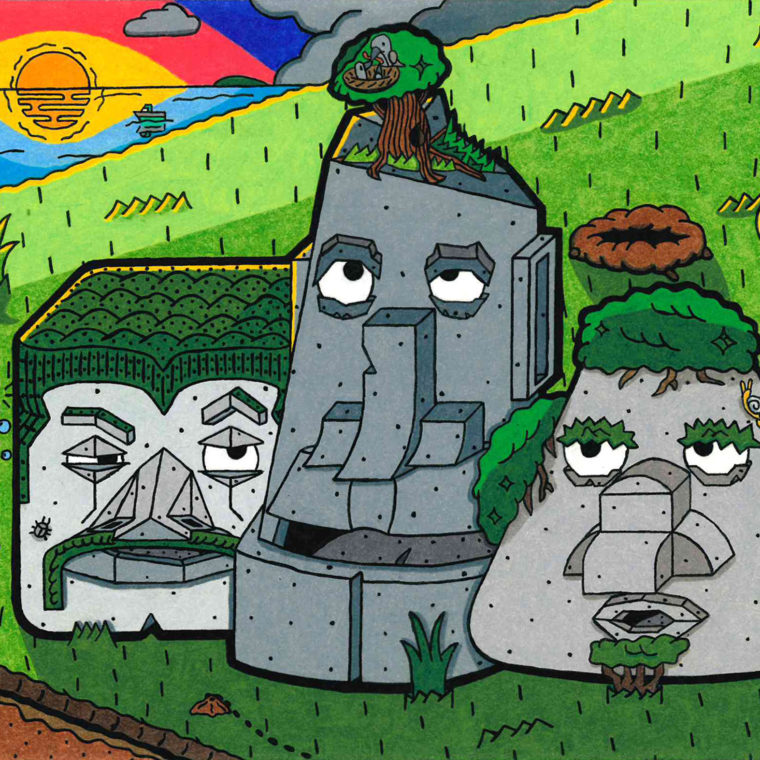 The Stoned Stooges by CB