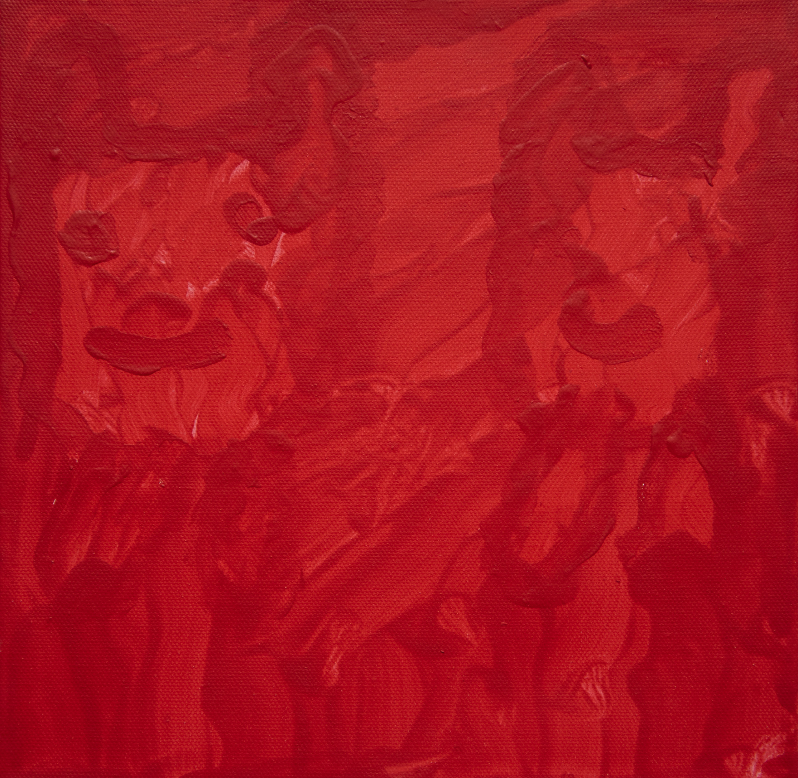 2 Dogs Acrylic on canvas by Charlene Murphy