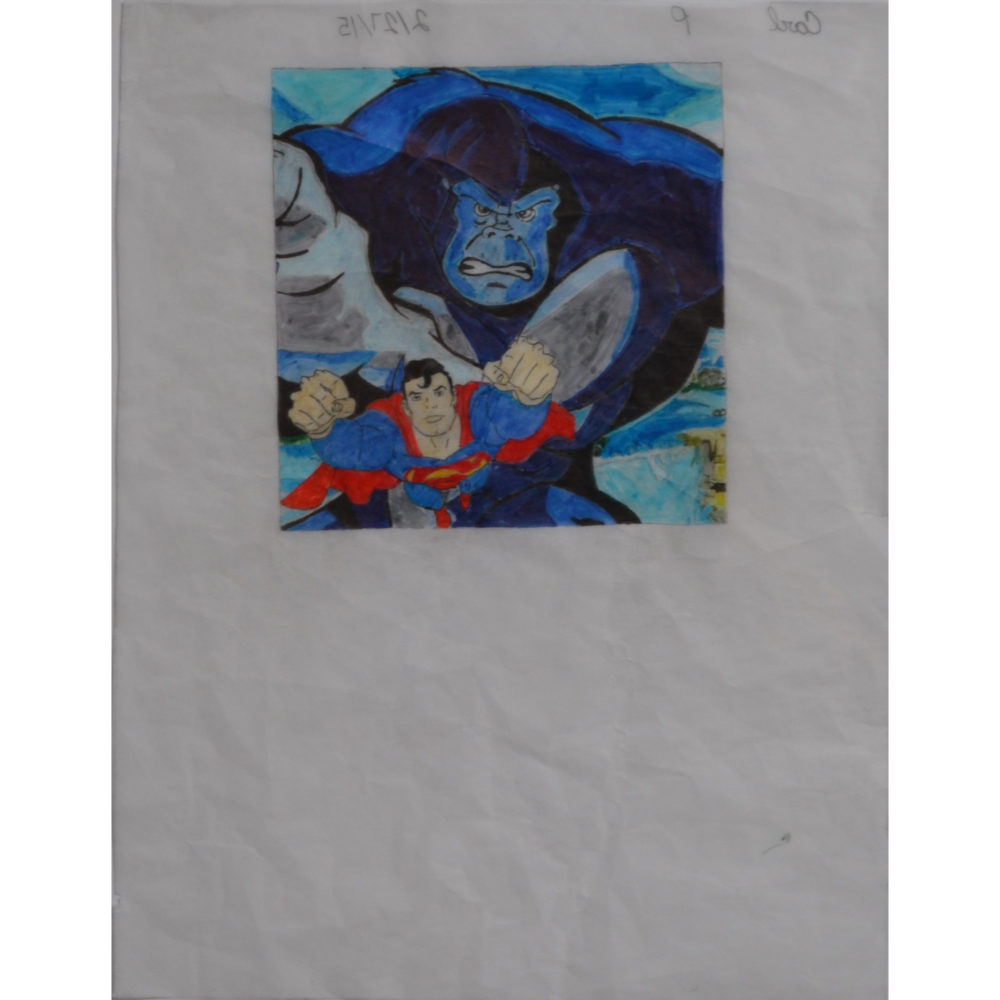 Untitled (superman) by Carl H. Phillips