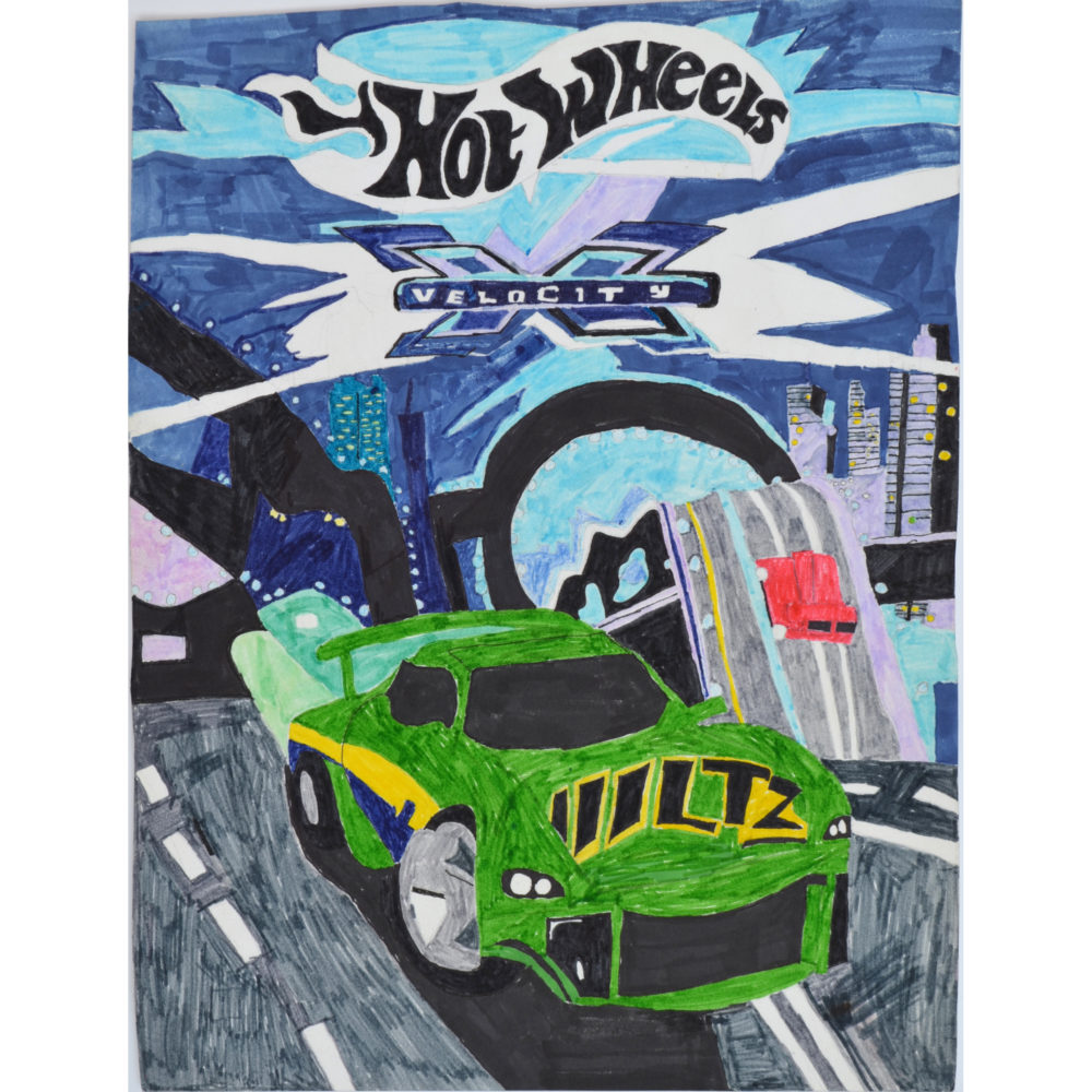 Untitled (Hot Wheels) by Carl H. Phillips