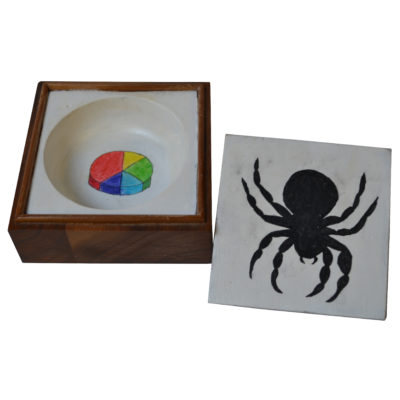 spider and pie chart box by Carl Phillips