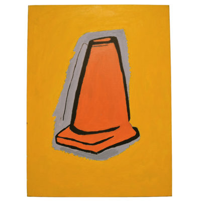 Construction cone by Carl Phillips