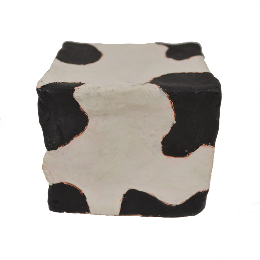 Cow cube by Carl Phillips