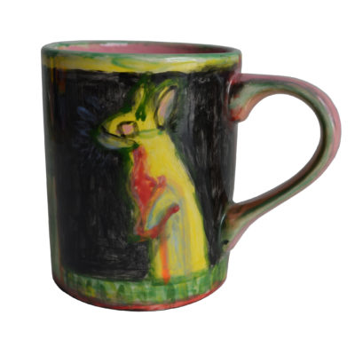 Rabbit mug by Carmella Salvucci