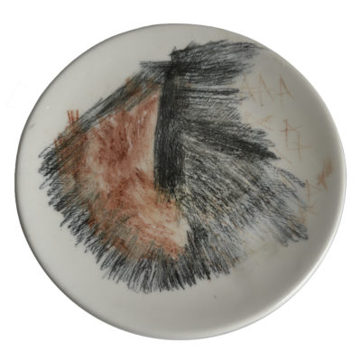 Ceramic plate by Chandra Phillips