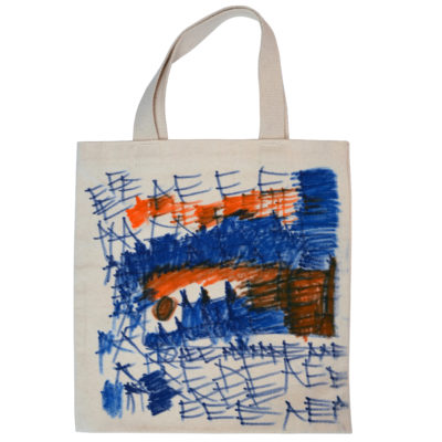 Mini tote by Chandra Phillips Side A