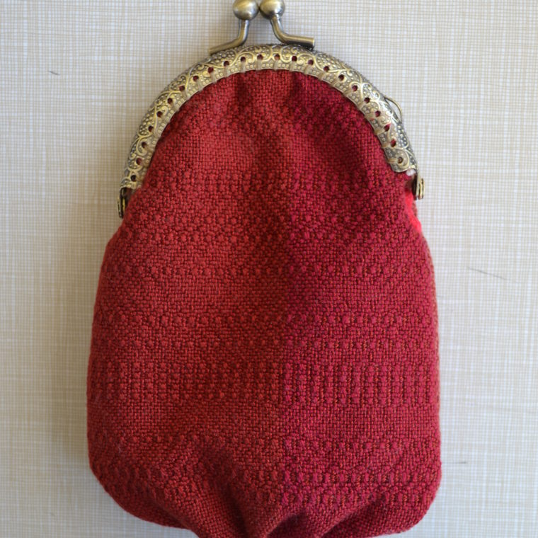 Woven pouch by Chandra Phillips