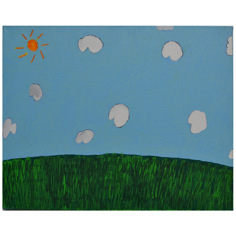 Untitled (10 Clouds) by Christina Taylor