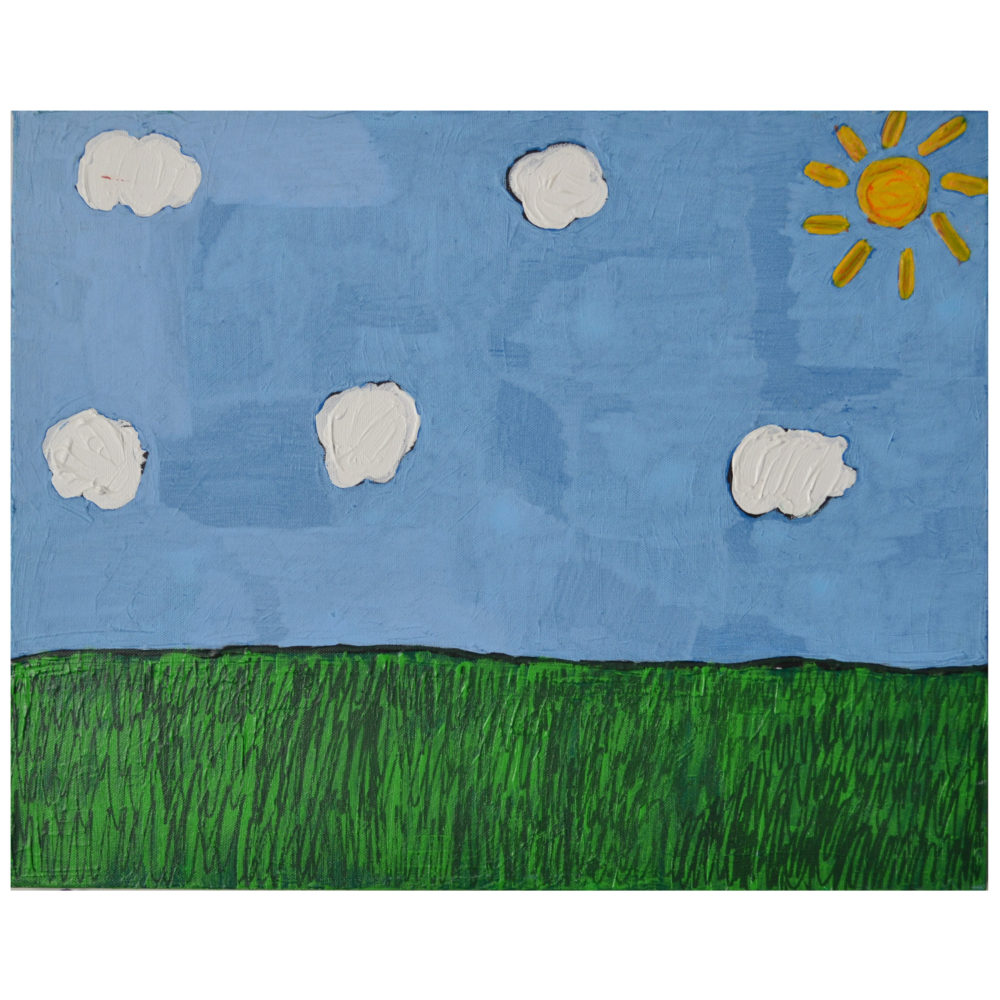 Untitled (5 clouds) By Christina Taylor