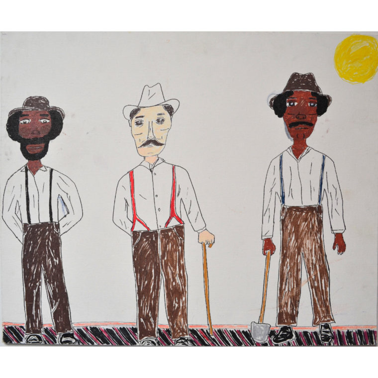 Untitled (3 Guys) by Darryl Brooks)