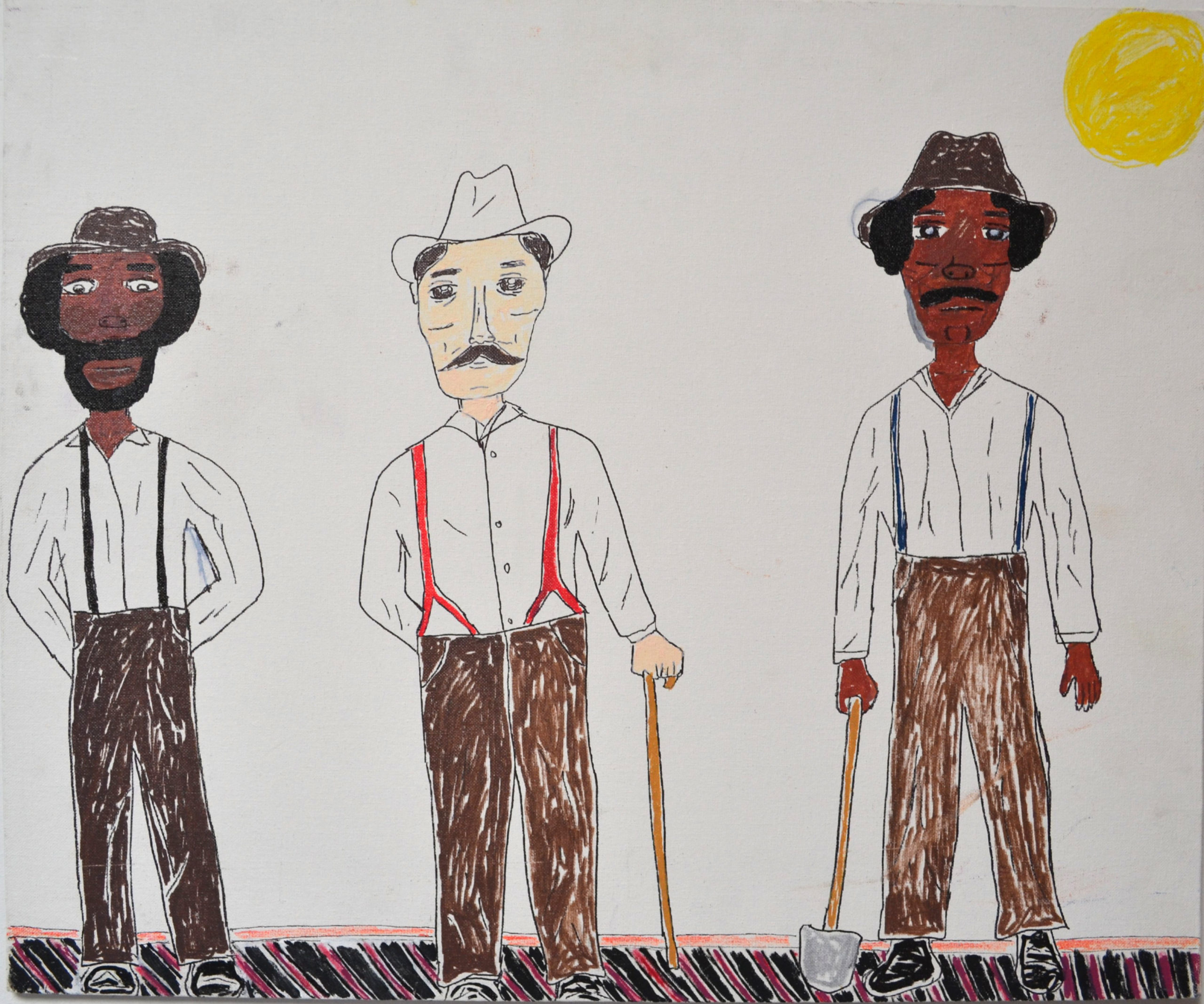 Untitled (3 Guys) By Darryl Brooks