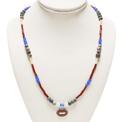 Football necklace by David O'Toole