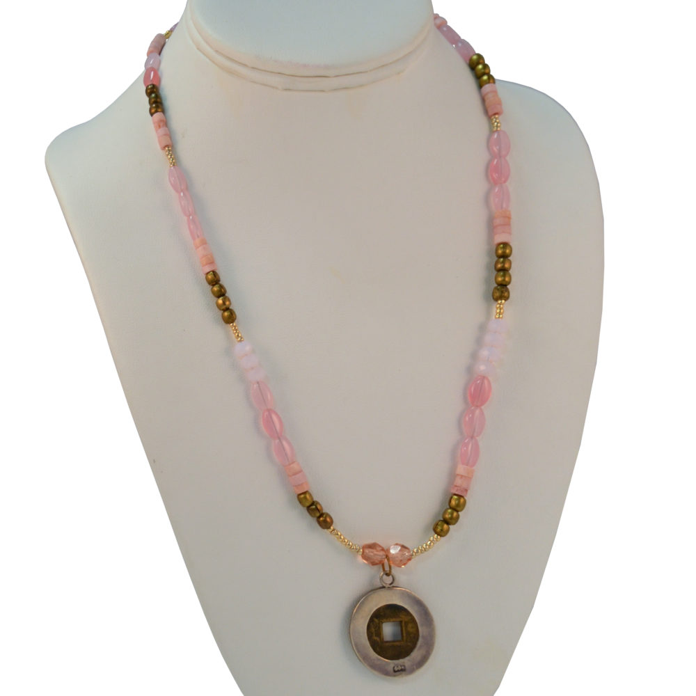 Coin necklace by David O'Toole