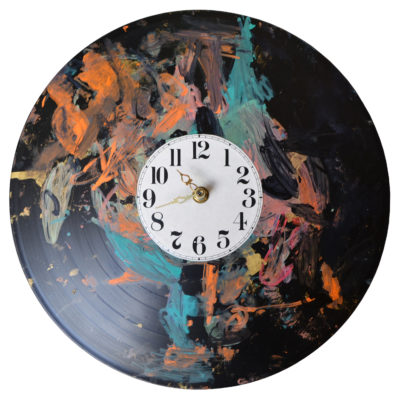 Record clock by Dominic Tufo