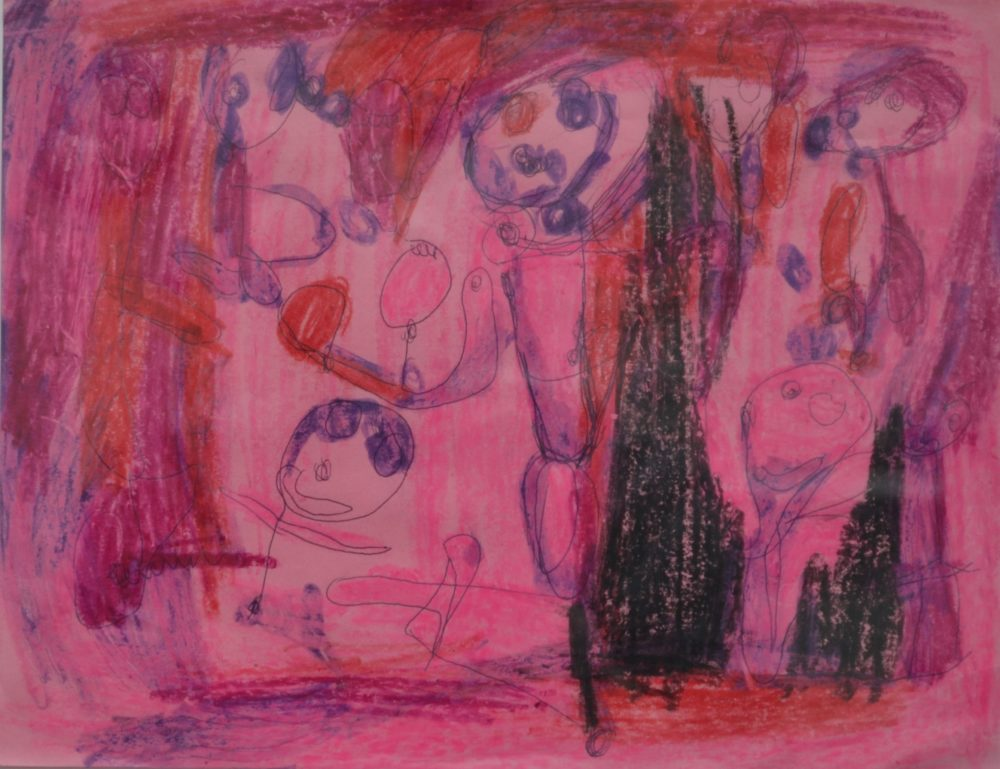 Untitled (pink) by Dominic Tufo