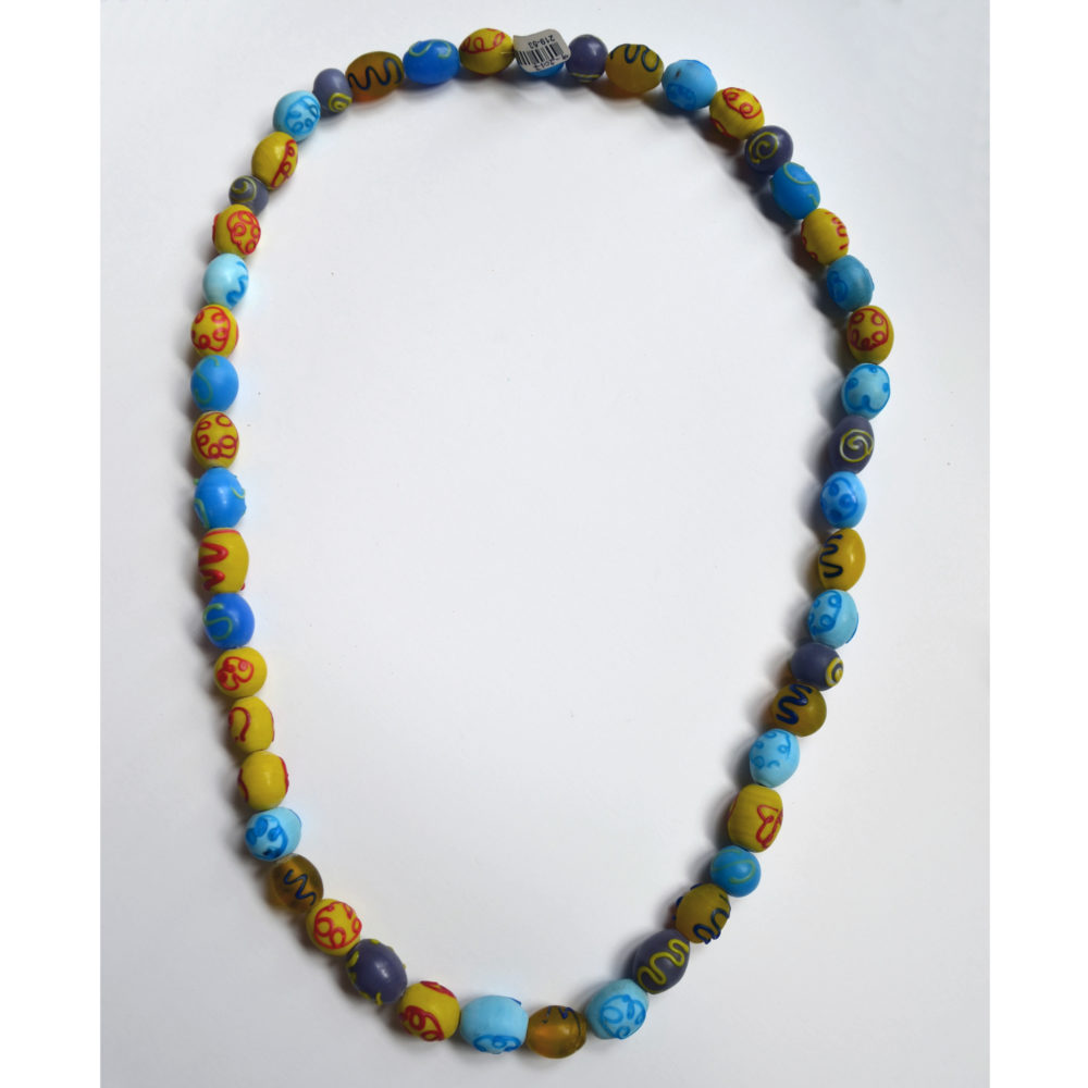 Glass beads necklace by Ella Williams