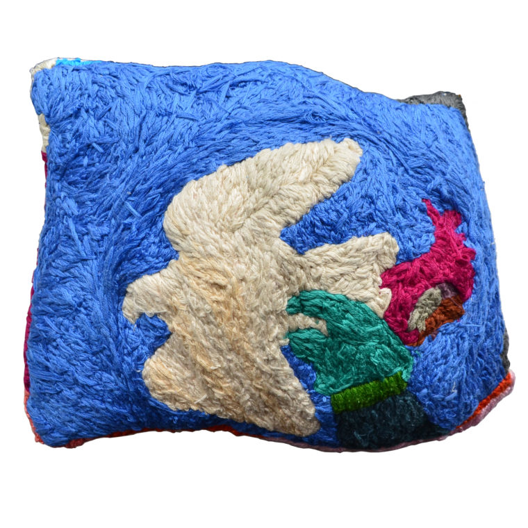 Bird pillow by Farah Faustin