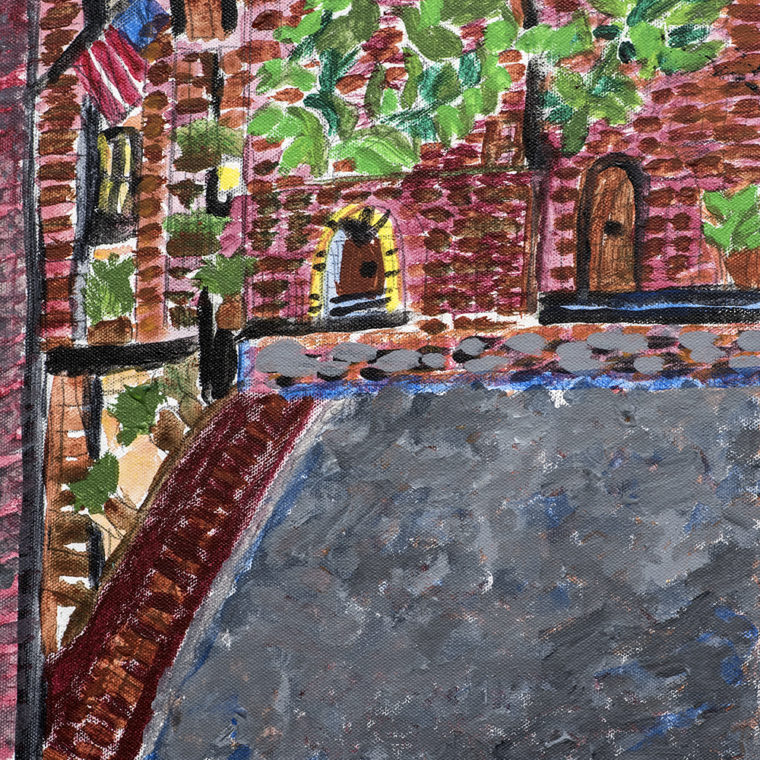 Acorn Street, Beacon Hill by Mary Galgay