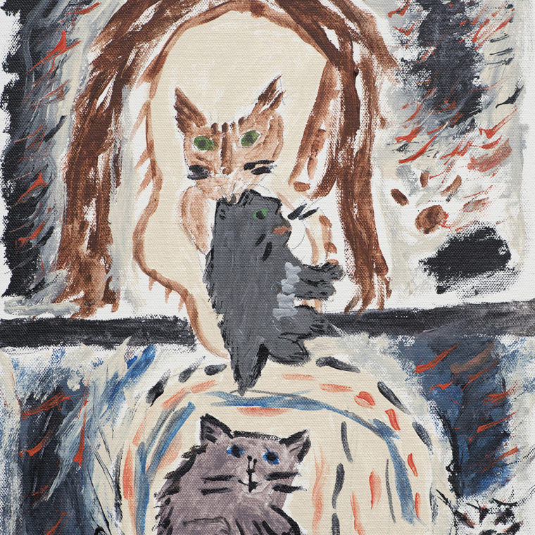 Untitled (cats) by Mary Galgay