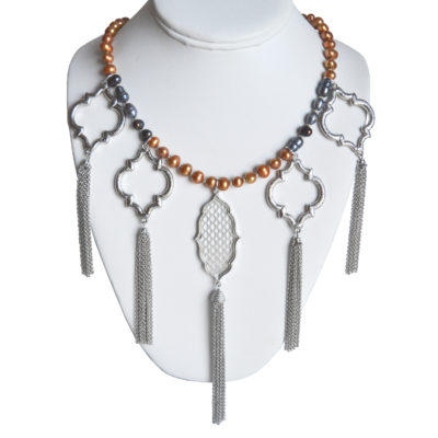 Tassels necklace by Giovanni Ricci