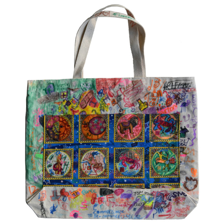 Zodiac tote bag by JB Finnerty
