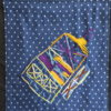 Abstract tote bag by Jeffrey Wales