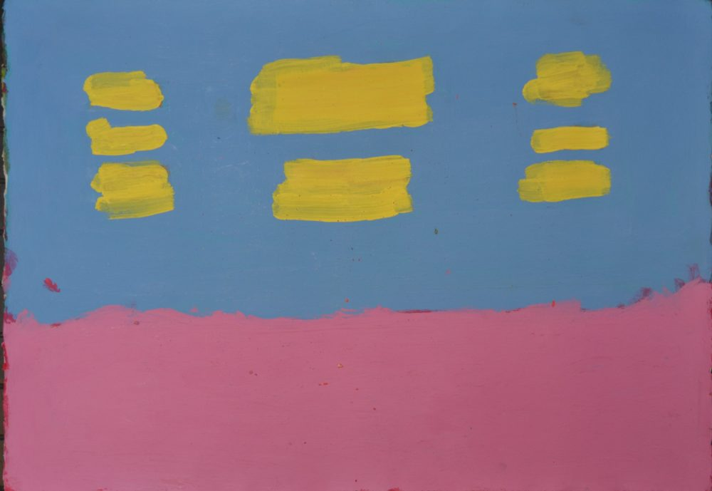 Untitled (pink, blue and yellow) by Joe Howe