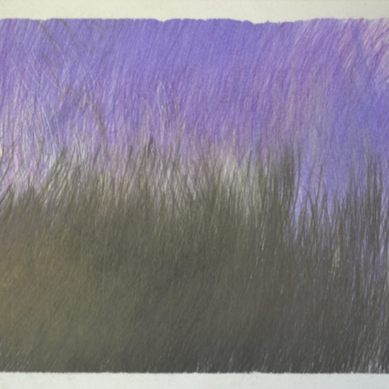 Untitled (purple and black) by John Colby