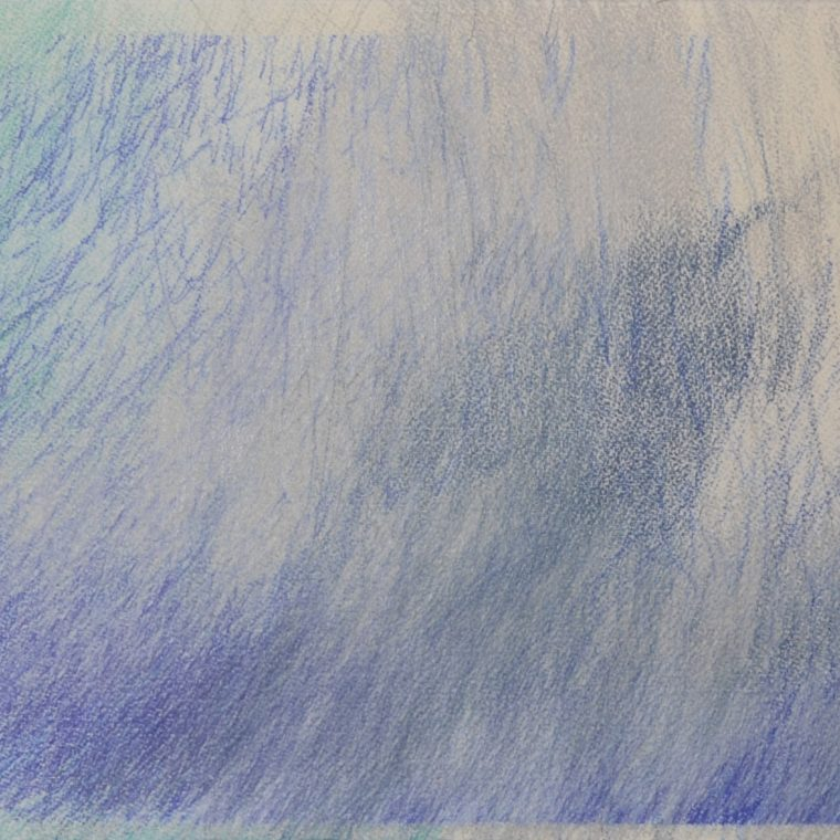 Untitled (blue) by John Colby