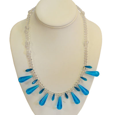 Blue Drops necklace by Jon Herzog