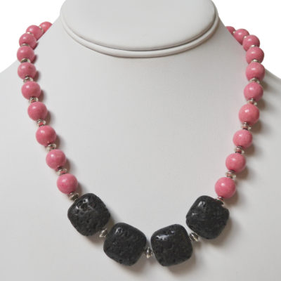 Lava necklace by Jordana Simpson