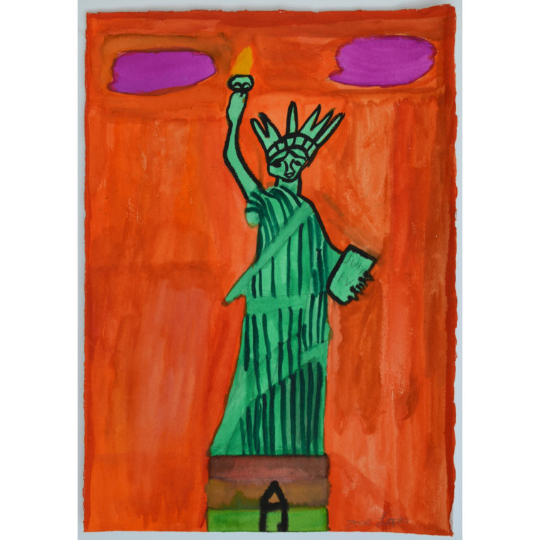 Untitled (Statue of Liberty) by Jose Lopes