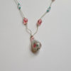 Delicate necklace by Judy Phillips