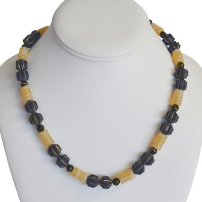High contrast necklace by Kayla Johnson