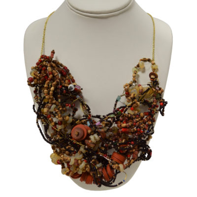Wild nest necklace by Kenny Reynolds