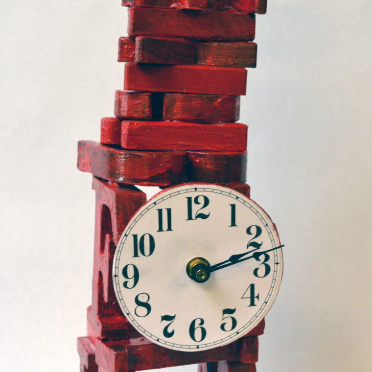 ABC Clock by Lyubov Rozenfeld