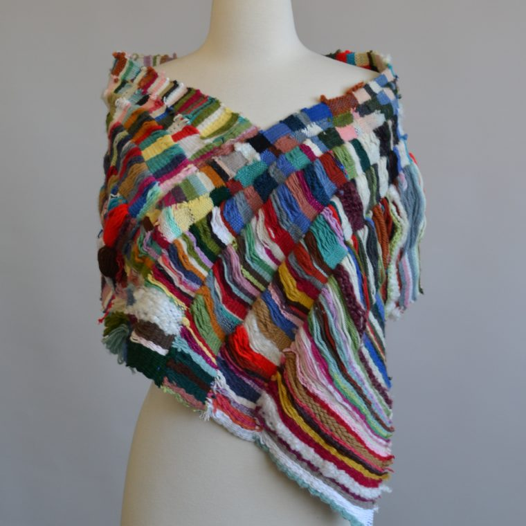 Tapestry shawl by Laurie Maguire